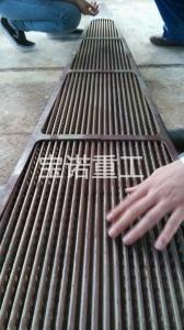 竖波纹扇形板